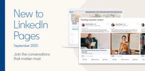 Nouveautés pour les pages LinkedIn : liste des followers, onglets Événements et My Company