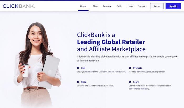 ClickBank plateforme d'affiliation marketing