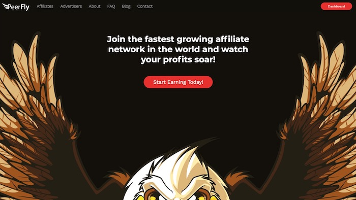 Peerfly plateforme d'affiliation marketing