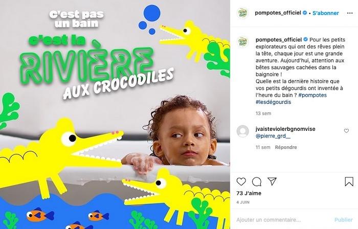 PomPot storytelling enfant