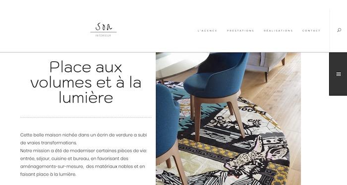 site minimaliste