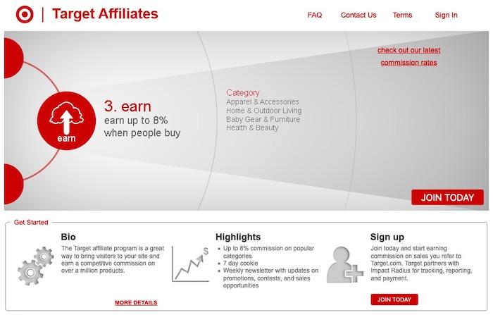 Target Affiliates plateforme d'affiliation marketing