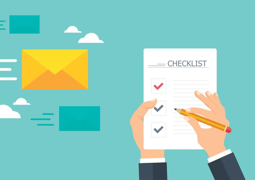 Newsletter : vérifications avant envoi