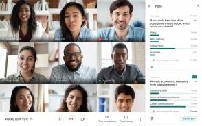 Google Meet lance les sondages et les questions réponses