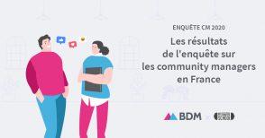 Enquête sur les community managers en France, les résultats 2020