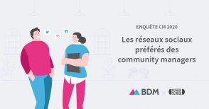 Les réseaux sociaux préférés des community managers en 2020