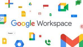 Google Workspace remplace G Suite et rassemble Gmail, Drive, Agenda, Docs, Sheets, Meet…