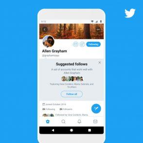 Twitter : une nouvelle méthode pour trouver des comptes à suivre
