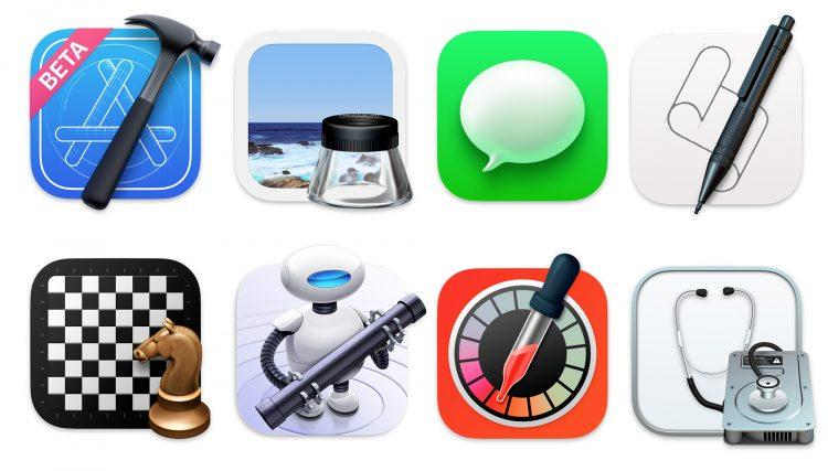 icone MacBook visual design