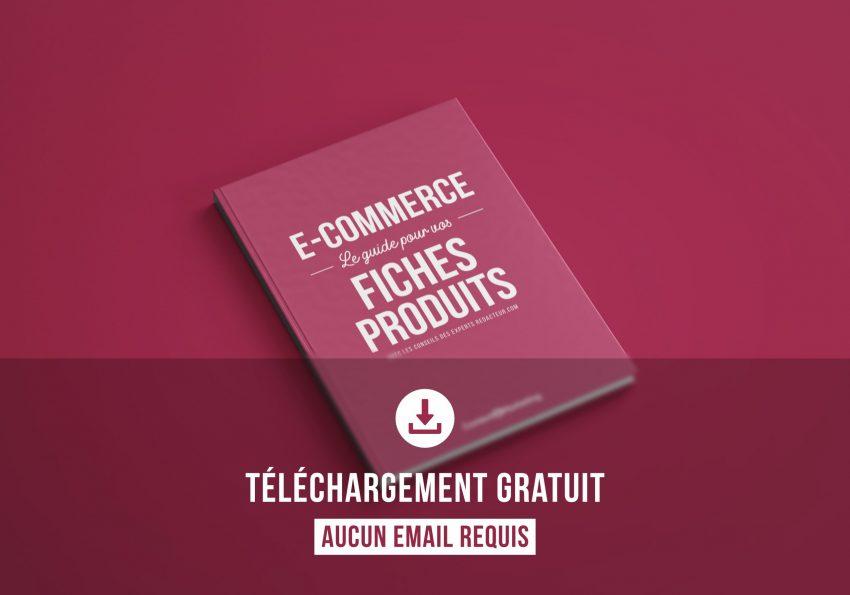 télécharger livre blanc gratuit free e-commerce fiches produits