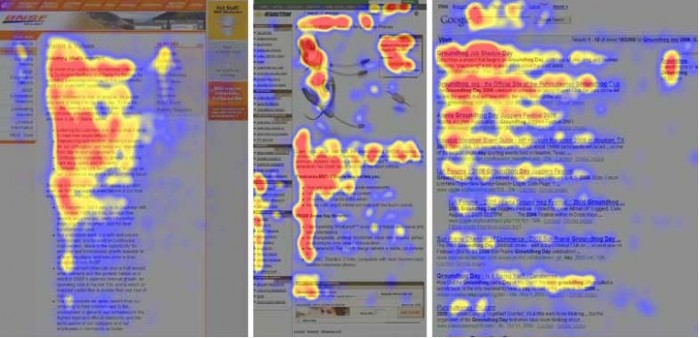 Rédaction web - Eyetracking Jakob Nielsen